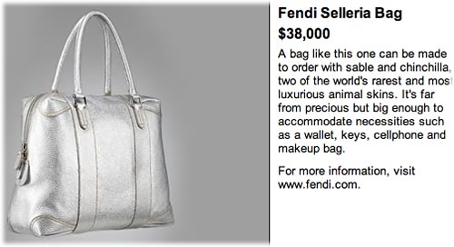 Fendi Selleria Bag