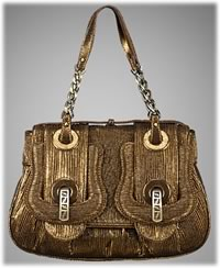 Fendi B. Fendi Pleated Medium Handbag