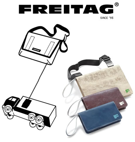 Freitag Recycled Bags
