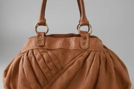 Giorgio Brato Asymmetrical Pleated Bag