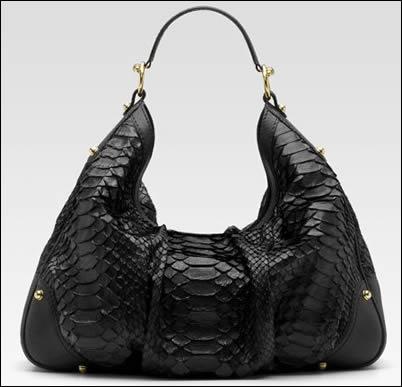 gucci jockey python bag