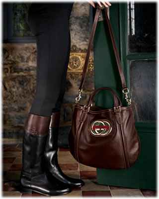 Gucci Tote and Boots