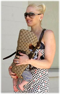 When I first laid eyes on the Gucci Baby Carrier