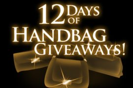 Luxaholics and Purse Blog 12 Days of Handbags Giveaway