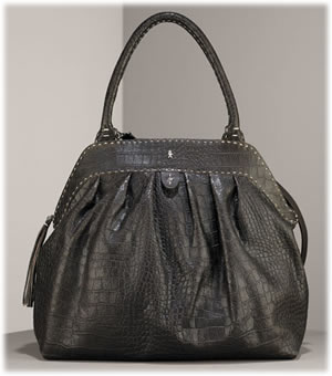 Henry Beguelin Crocodile Doctor Handbag