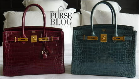Hermes birkin crocodile colors