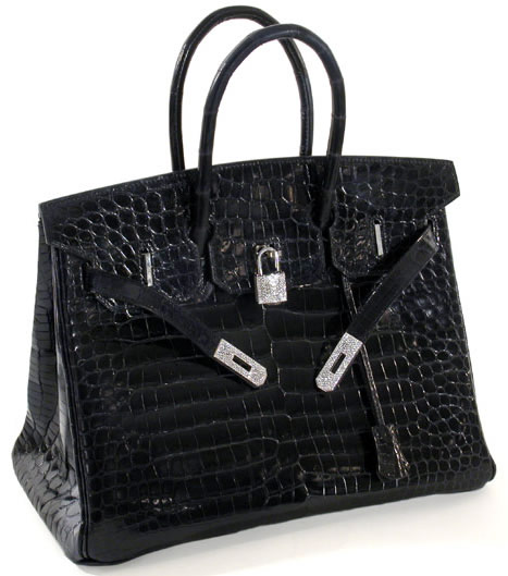 Hermes Diamond Crocodile Birkin