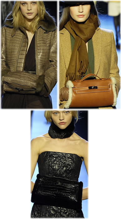Hermes Fall 2007 Kelly Muffs
