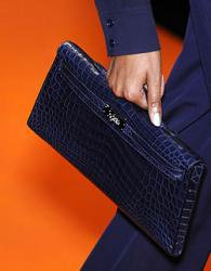 Hermes Kelly Crocodile Longue
