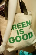 Hayden-Harnett Green Is Good Tote $27