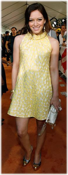 Hilary Duff Jimmy Choo Foldover Clutch