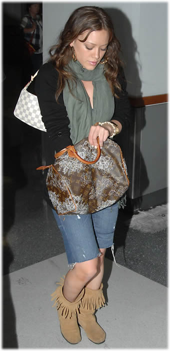 hilary duff louis vuitton speedy1