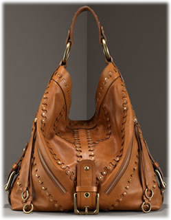 Isabella Fiore Studded Hobo