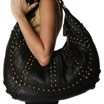 Isabella Fiore Sweet Dreams Alexia Hobo in Black
