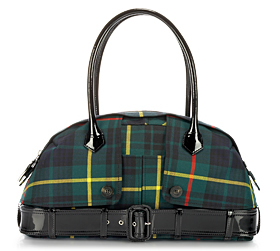 Jean Paul Gaultier Le Prive Tartan Bag