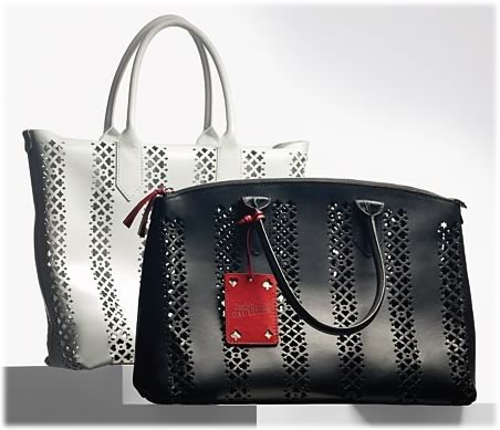 Jean Paul Gaultier Perforated Handbags