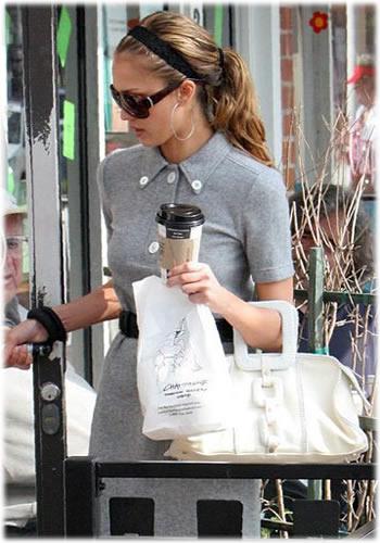 Jessica Alba Retro Bag