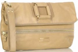Jimmy Choo Marin Leather Clutch