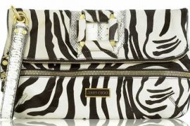 Jimmy Choo Marin Zebra Clutch: Fab or Drab?