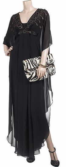 Jimmy Choo Marin Zebra Clutch1