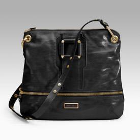 Jimmy Choo Marina Patent Messenger Bag