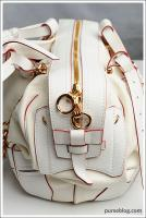 JT Italia HB Satchel - AIR Collection - White - $3,440