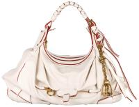 JT Italia MC Large Hobo in White - Air Group - $2,495.00