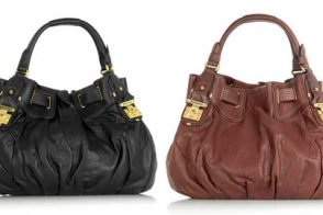 Juicy Couture Slouch Leather Tote