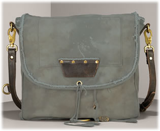 Juicy Couture Canvas Messenger Bag