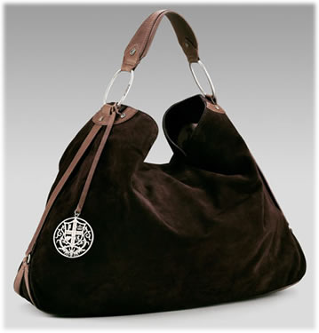 Juicy Couture Suede Slouch Hobo