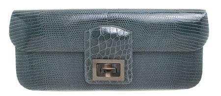 kara ross dea elephant lizard bag