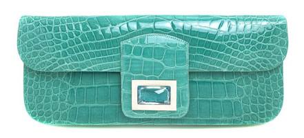 kara ross tiffany alligator bag