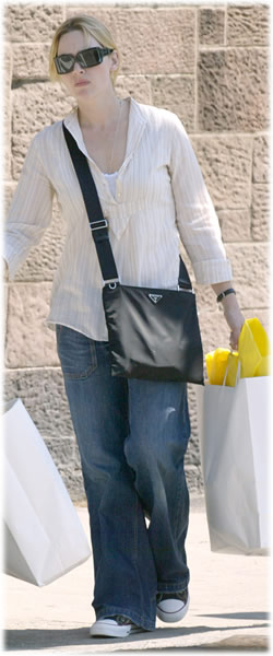 Kate Winslet Prada Nylon Bag