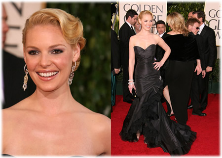 Katherine Heigl Golden Globes