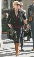 Katherine Heigl with Zufi Alexander Kiss Me Baby Bag