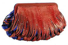 katherine kwei donna clutch red