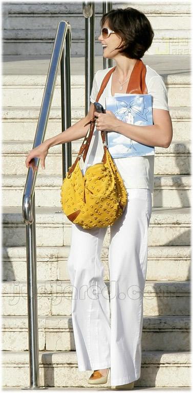 katie holmes handbag style1