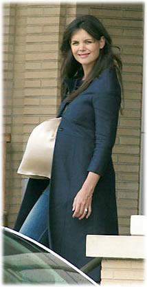 Katie Holmes Pregnant