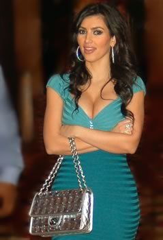 kim kardashian chanel bag