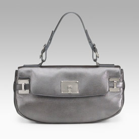 Lambertson Truex Angie Metallic Shoulder Bag