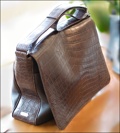 Lambertson Truex Crocodile Bag