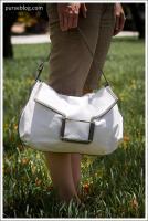 Lambertson Truex Gallo in White/Dove leather
