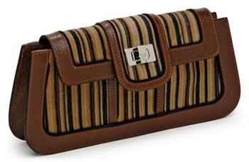 Lambertson Truex Gallery Twisted Texture Clutch