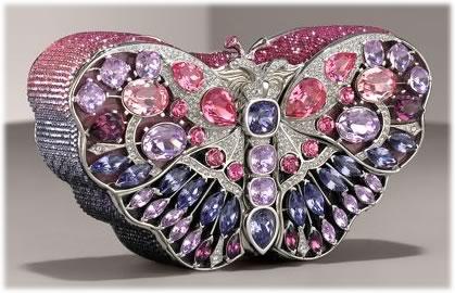 Leiber Butterfly Celestrina Clutch