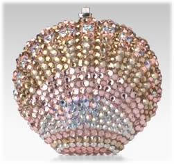 Leiber Crystal Shell Pillbox