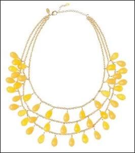 limoncello necklace