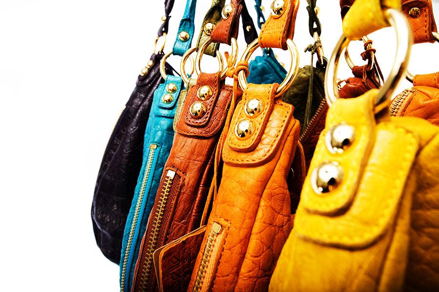 Linea Pelle Dylan Croco Shoulder Bag