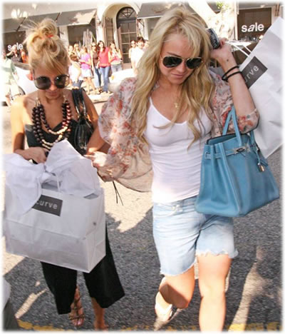 Lindsay Lohan Name that Bag