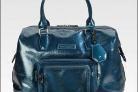 Longchamp Legende Patent Shopper