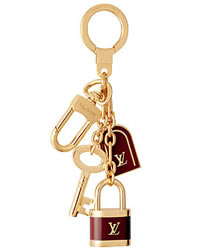 louis vuitton cadenas key holder
